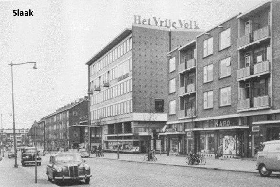 Bloemenmarkt op de Goudsesingel rond 1935