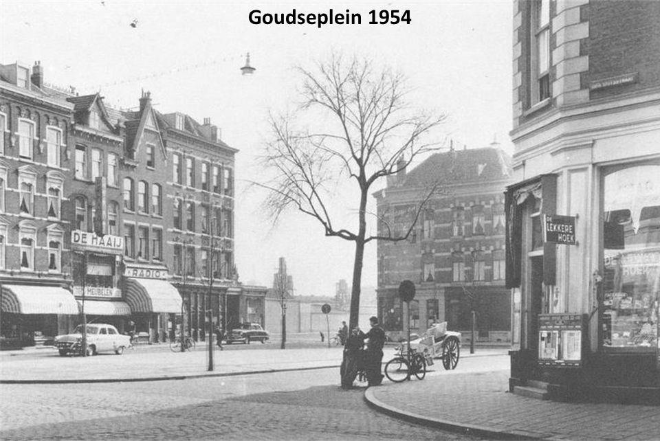 Goudsesingel kruising Goudseweg, rond 1937