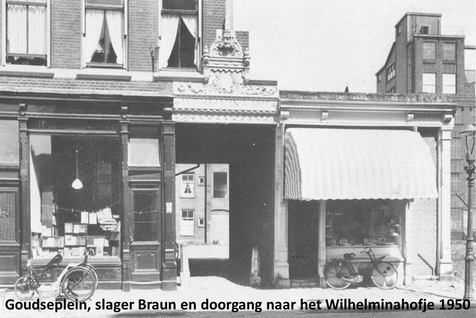 Krantenkiosk Goudserijweg Koninginnekerk vanaf Veemarkt