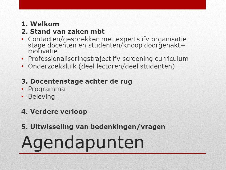 Contacten/gesprekken met experts ifv organisatie stage docenten/studenten OCMW Diest, dienst diversiteit, de werkgroep armoede, OCMW Scherpenheuvel, CAW, PRIC,….