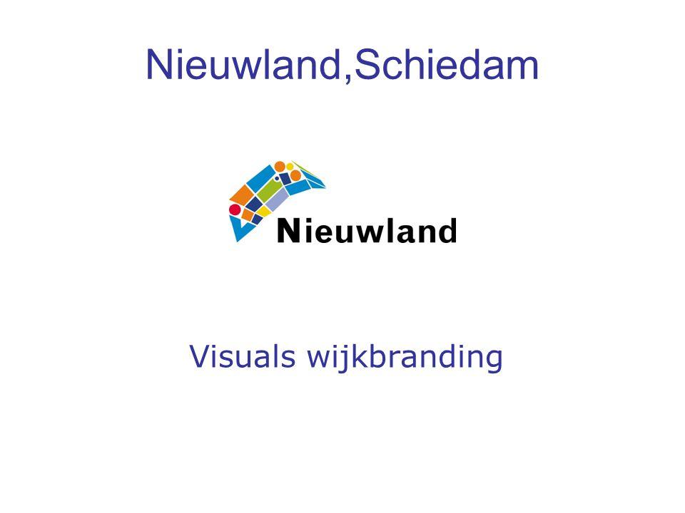 Nieuwland,Schiedam Visuals wijkbranding