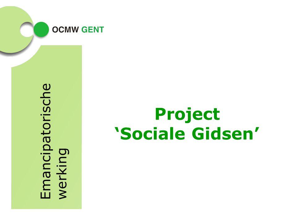 Project 'Sociale Gidsen' Emancipatorische werking