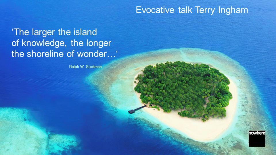 Discovering the shoreline of wonder