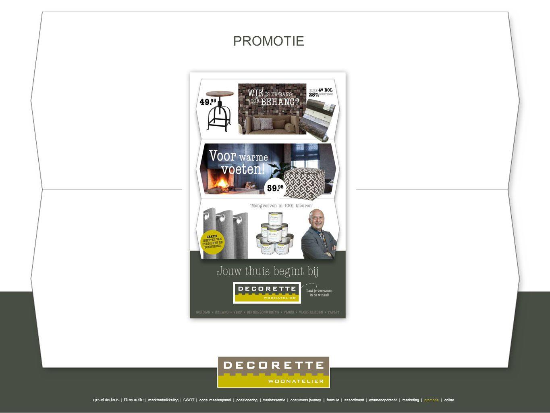 Pip Studio PROMOTIE geschiedenis | Decorette | marktontwikkeling | SWOT | consumentenpanel | positionering | merkessentie | costumers journey | formul