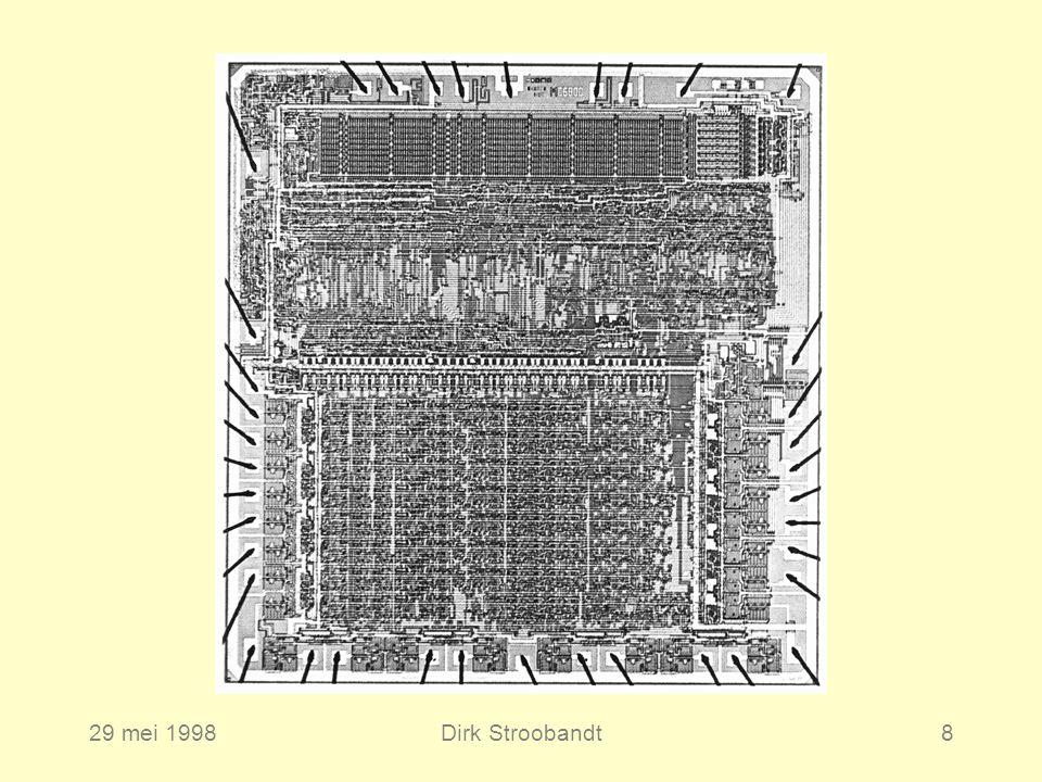 29 mei 1998Dirk Stroobandt8