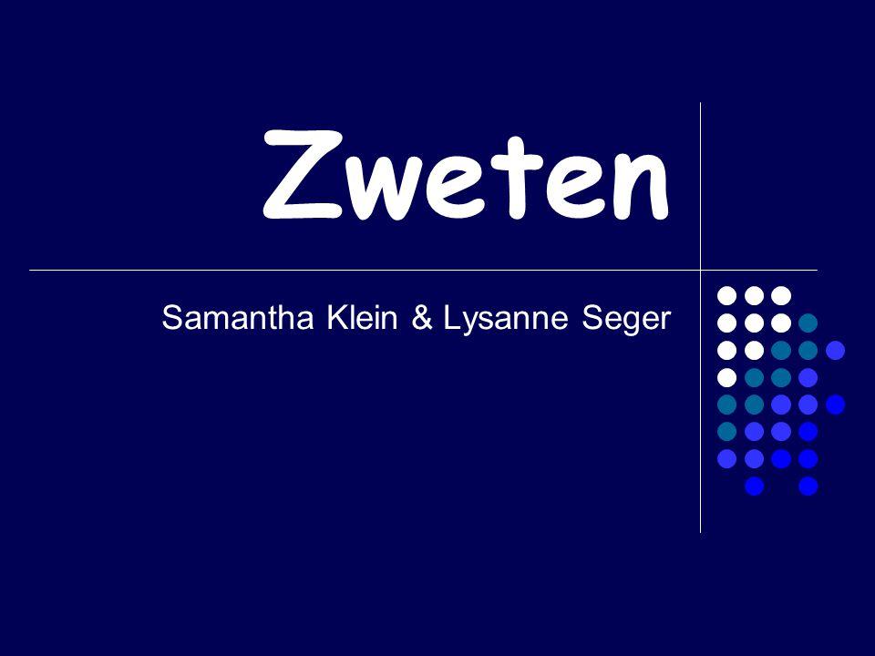 Zweten Samantha Klein & Lysanne Seger