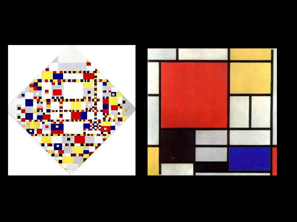 Mobile Kunstenaar Calder Primaire KleurenRood | Geel | Blauw Organische vormenZonder hoeken of rechte stukken EvenwichtVormen houden elkaar in evenwicht