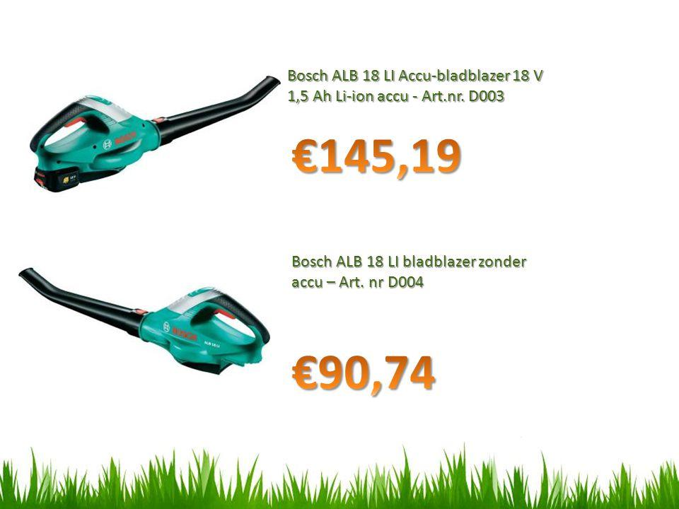 Bosch ALB 18 LI Accu-bladblazer 18 V 1,5 Ah Li-ion accu - Art.nr.