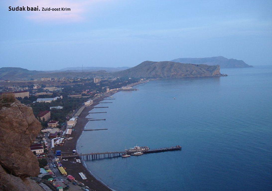 Sudak baai. Zuid-oost Krim