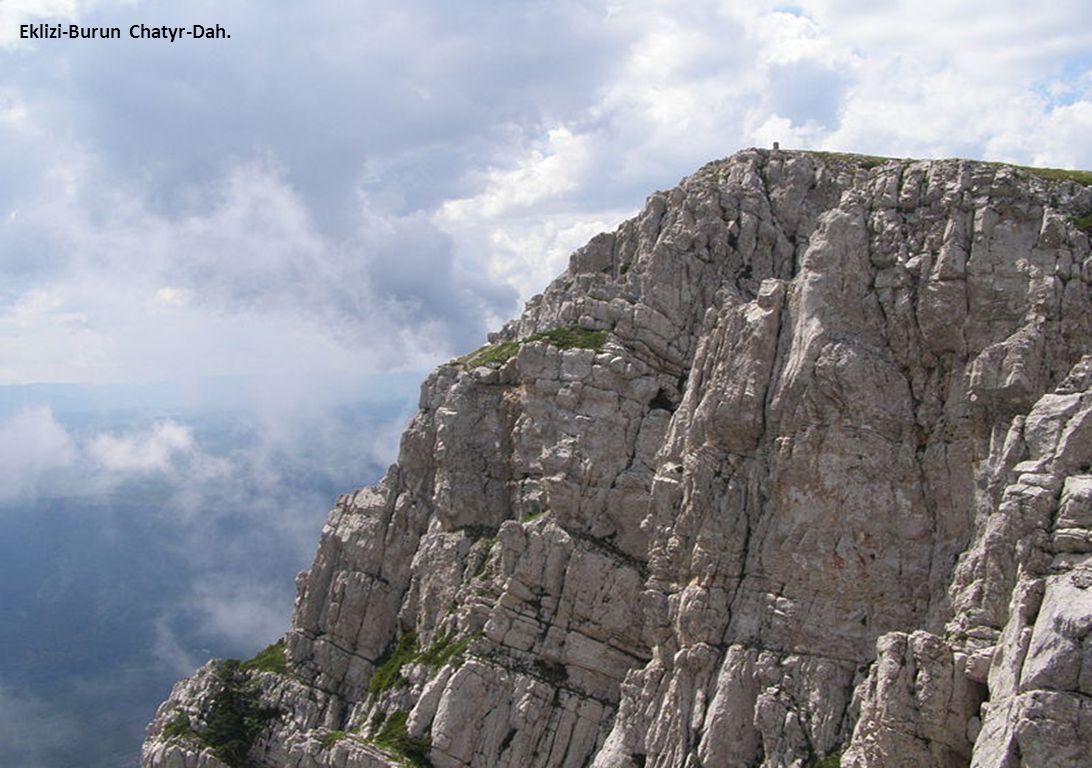 Yayla Cliff op Krim