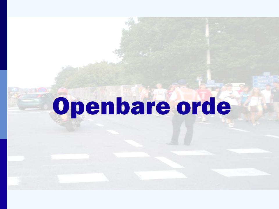 Openbare orde