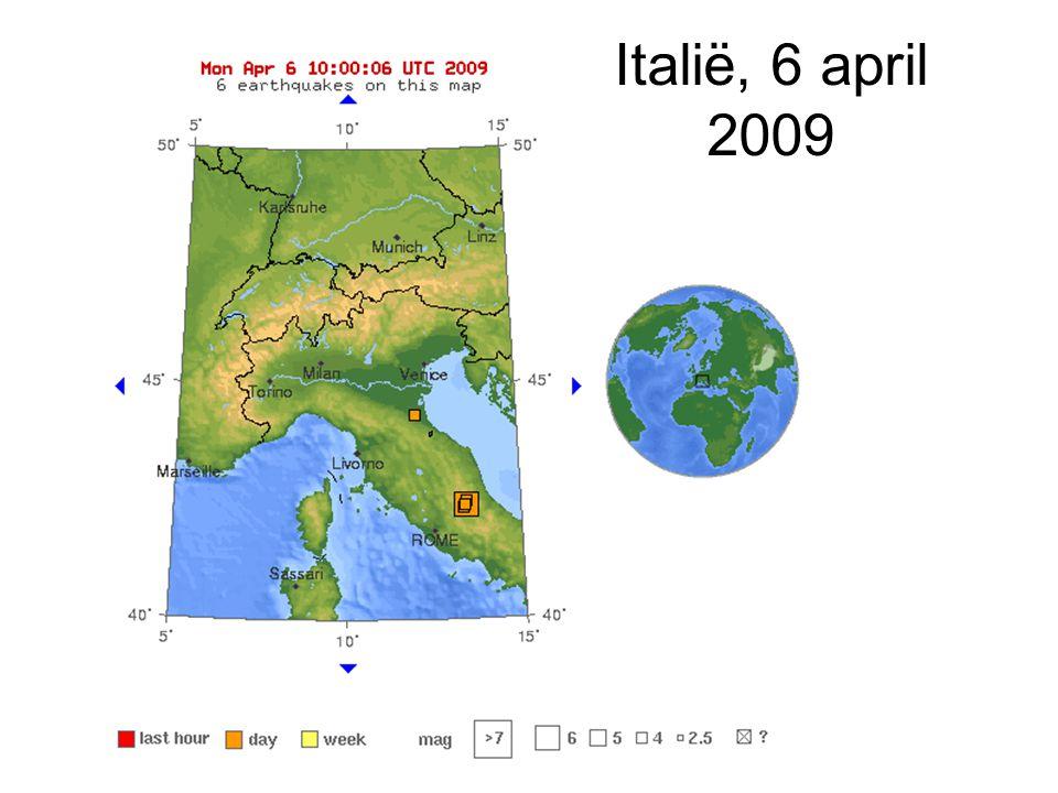 Italië, 6 april 2009