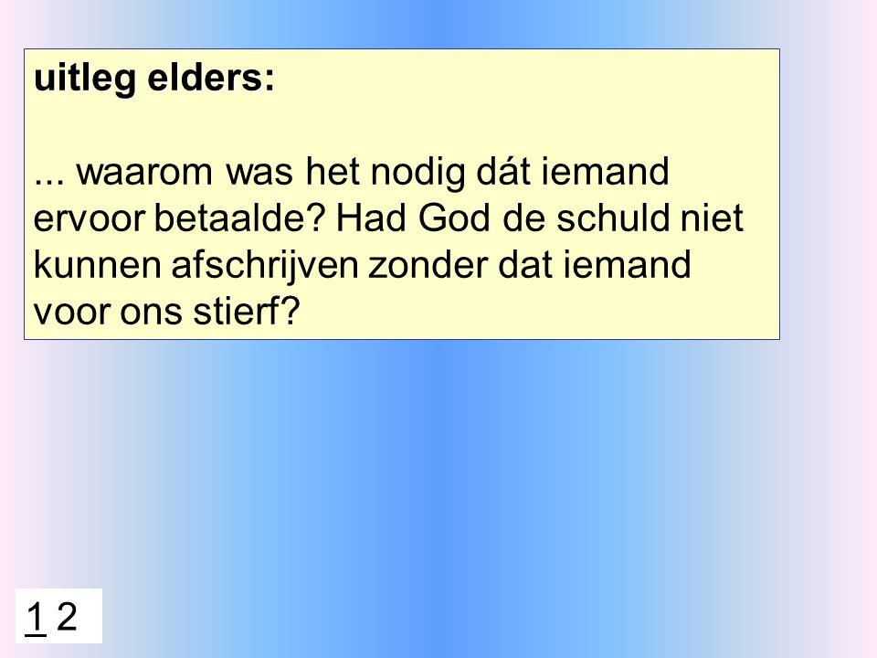 antwoord 2: opdat de Schrift vervuld zou worden