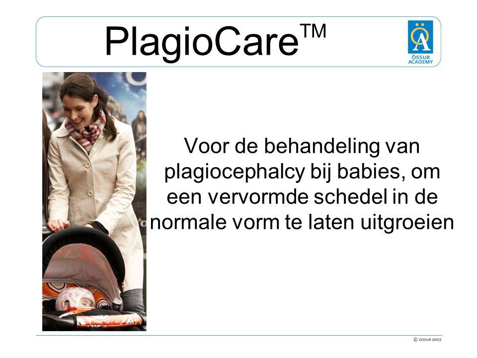 Voor de behandeling van plagiocephalcy bij babies, om een vervormde schedel in de normale vorm te laten uitgroeien PlagioCare TM