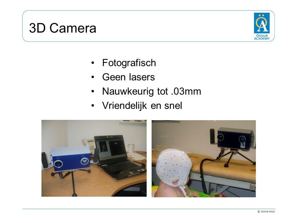 3D Camera Fotografisch Geen lasers Nauwkeurig tot.03mm Vriendelijk en snel