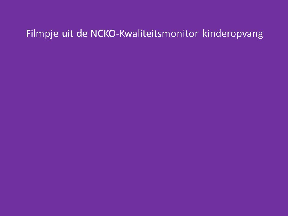 Kwalificatie dossier (KD) als basis ingredient.
