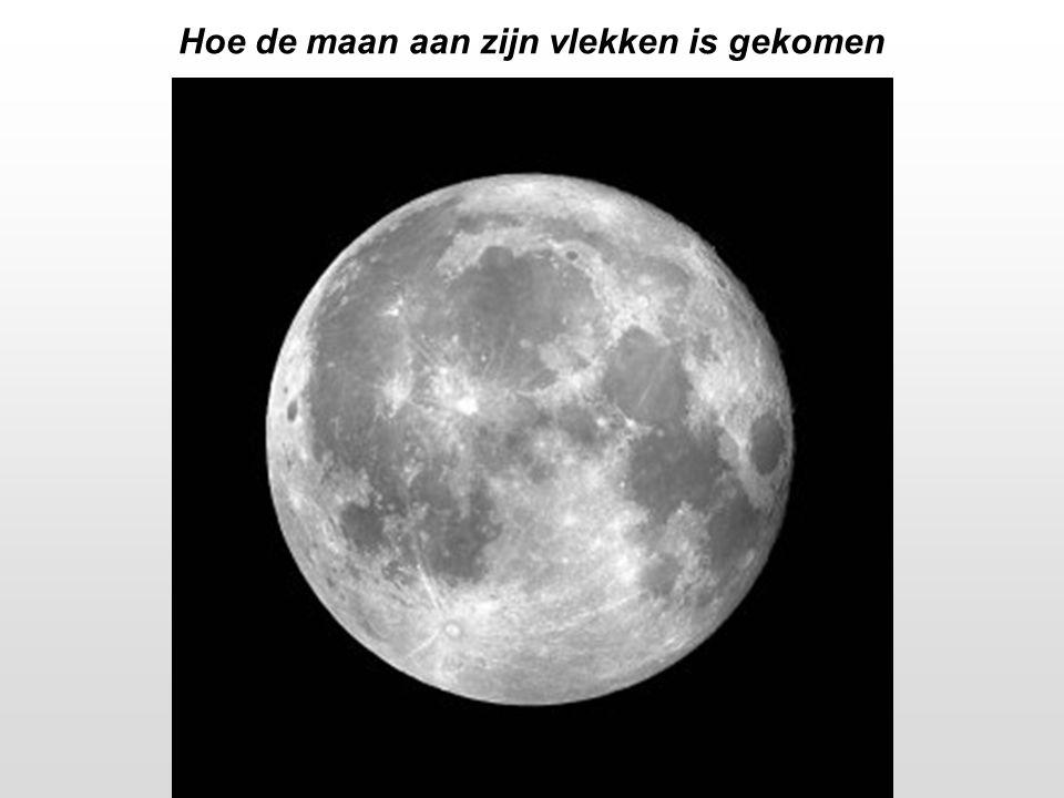Hoe de maan aan zijn vlekken is gekomen