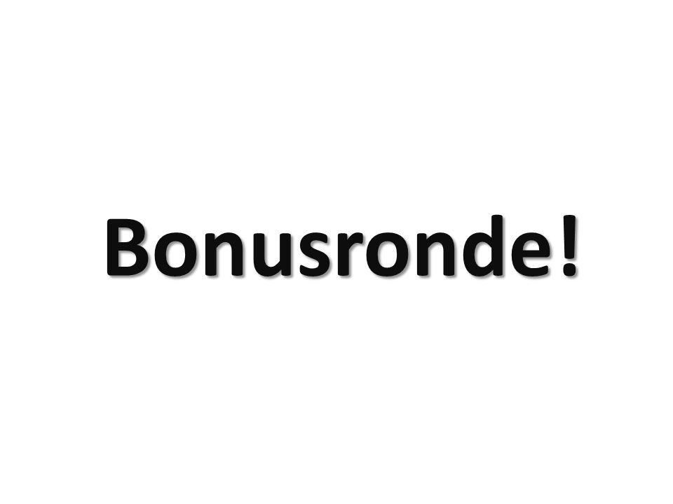 Bonusronde!