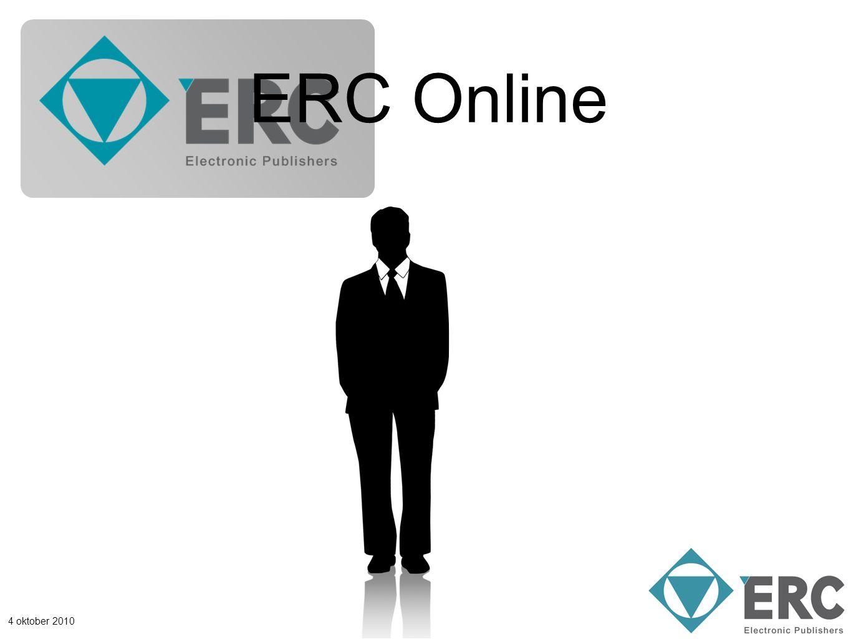 4 oktober 2010 ERC Online