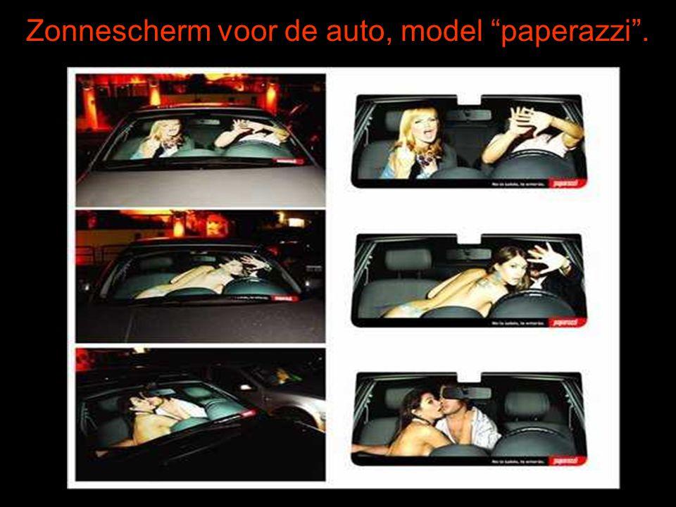 Zonnescherm voor de auto, model paperazzi .