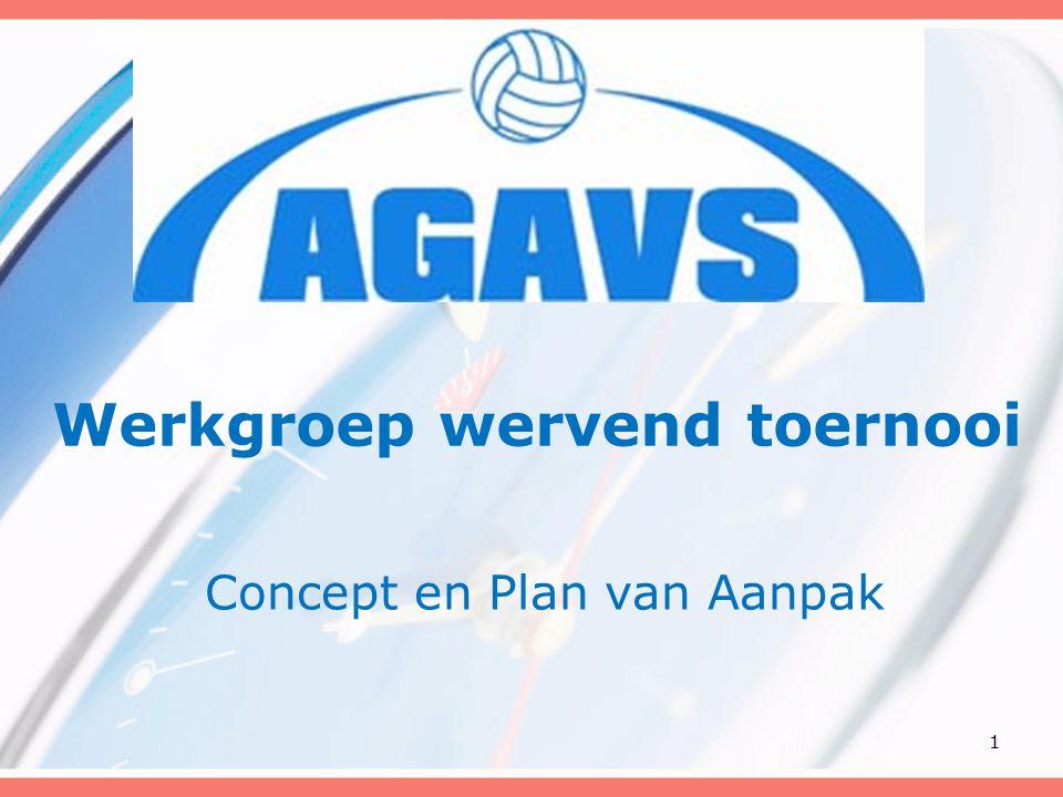 Werkgroep wervend toernooi Concept en Plan van Aanpak 1