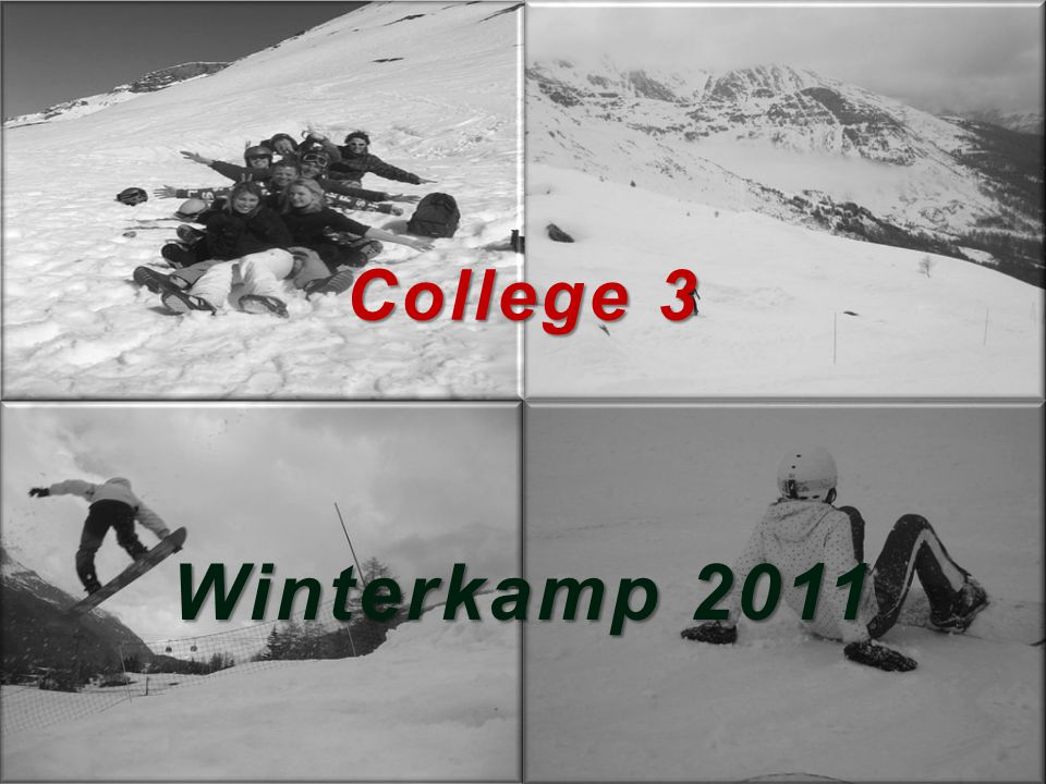 College 3 Winterkamp 2011