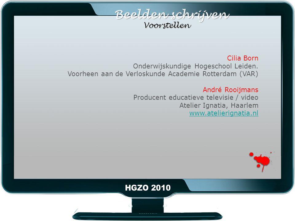 Cilia Born Onderwijskundige Hogeschool Leiden.