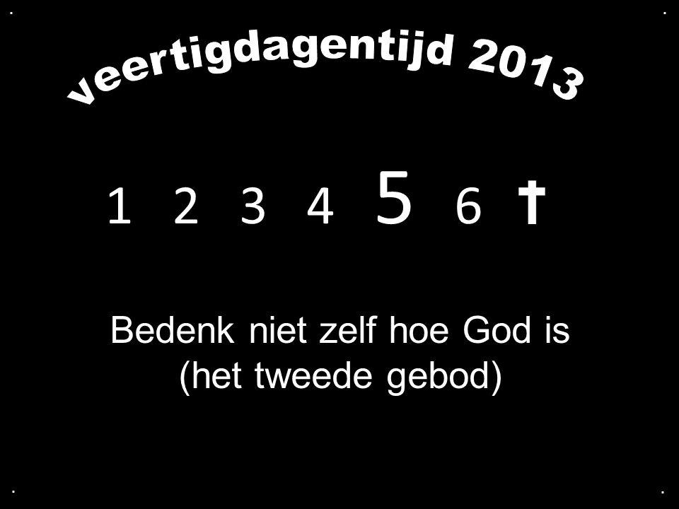 We lezen: Openbaring 5 De preek gaat over: Zondag 35 Bedenk niet zelf hoe God is (het tweede gebod) Alle liederen worden geprojecteerd Voorlezer: Jan Willem de Vries Het eerste lied: Opwekking 366: 1, 2 Voorganger: ds.