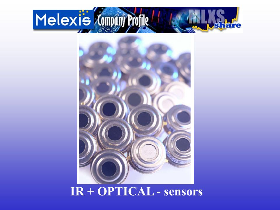 IR + OPTICAL - sensors