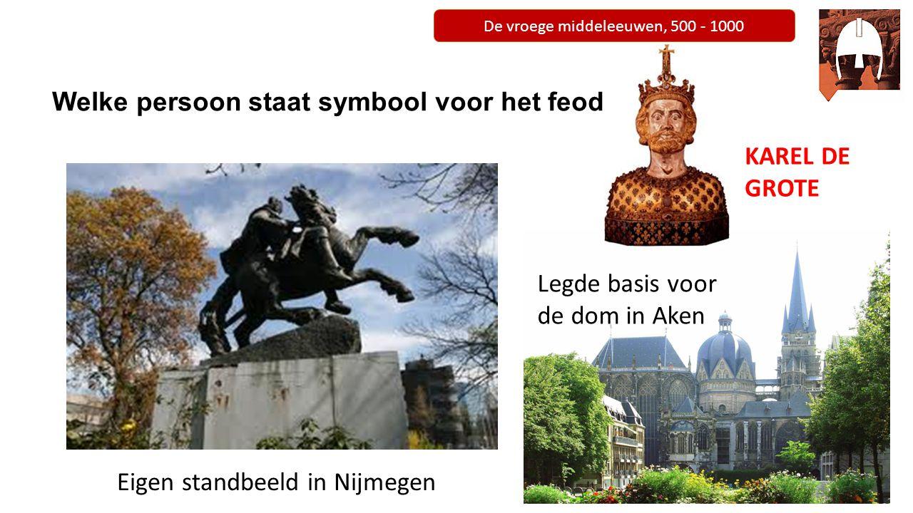 De vroege middeleeuwen, 500 - 1000 Welke persoon staat symbool voor het feodalisme.