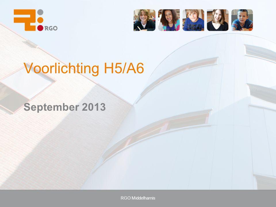 RGO Middelharnis Voorlichting H5/A6 September 2013