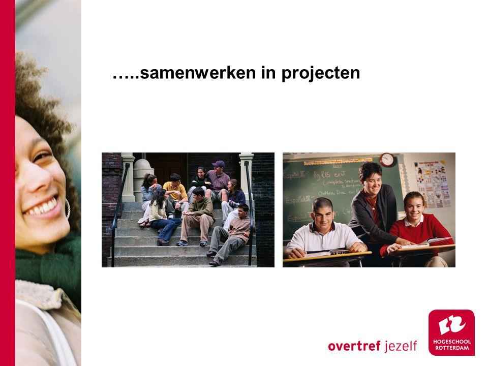 …..samenwerken in projecten