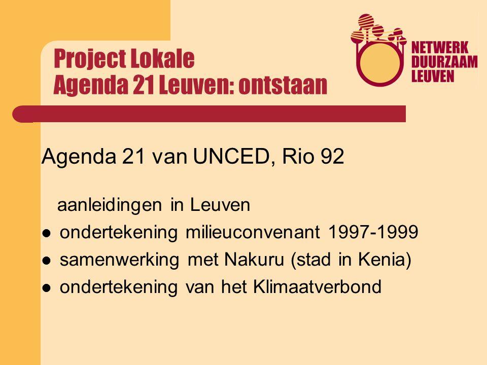 milieuconvenant Vrijwillige overeenkomsten tussen steden en Vlaams Gewest Gestart in 1992 (convenant 92-96), Inhoud is stelselmatig uitgebouwd en verdiept Subsidies in ruil voor taken in het milieubeleid Uitbouw milieudienst, energie, water, natuur, duurzame producten, duurzame ontwikkeling