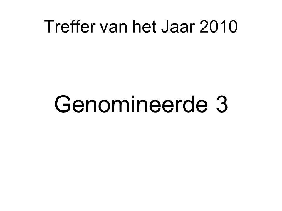 Treffer van het Jaar 2010 Genomineerde 3