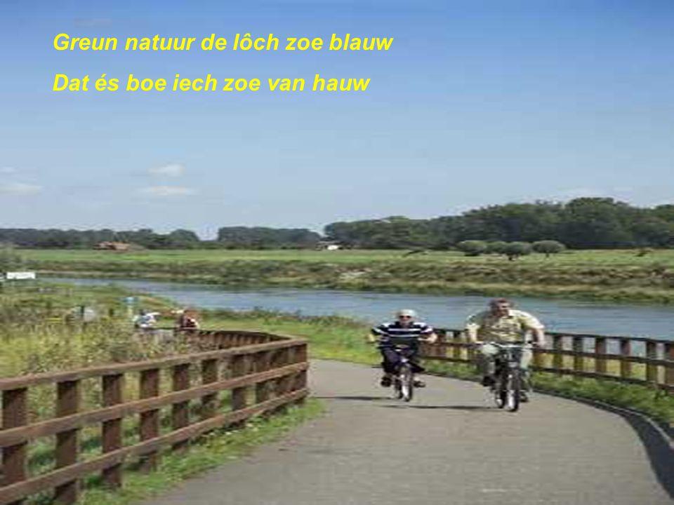 Puur natuur wat wil'ste miëe Het deilt Limburg knal door twiëe