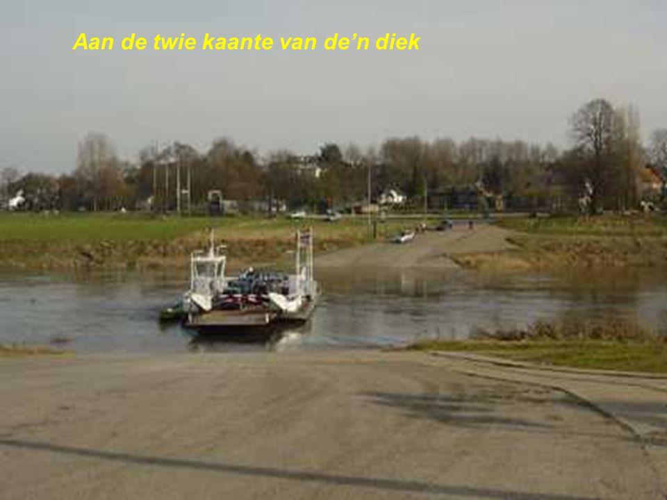 Nörgens geliek, de Maas zoe riek