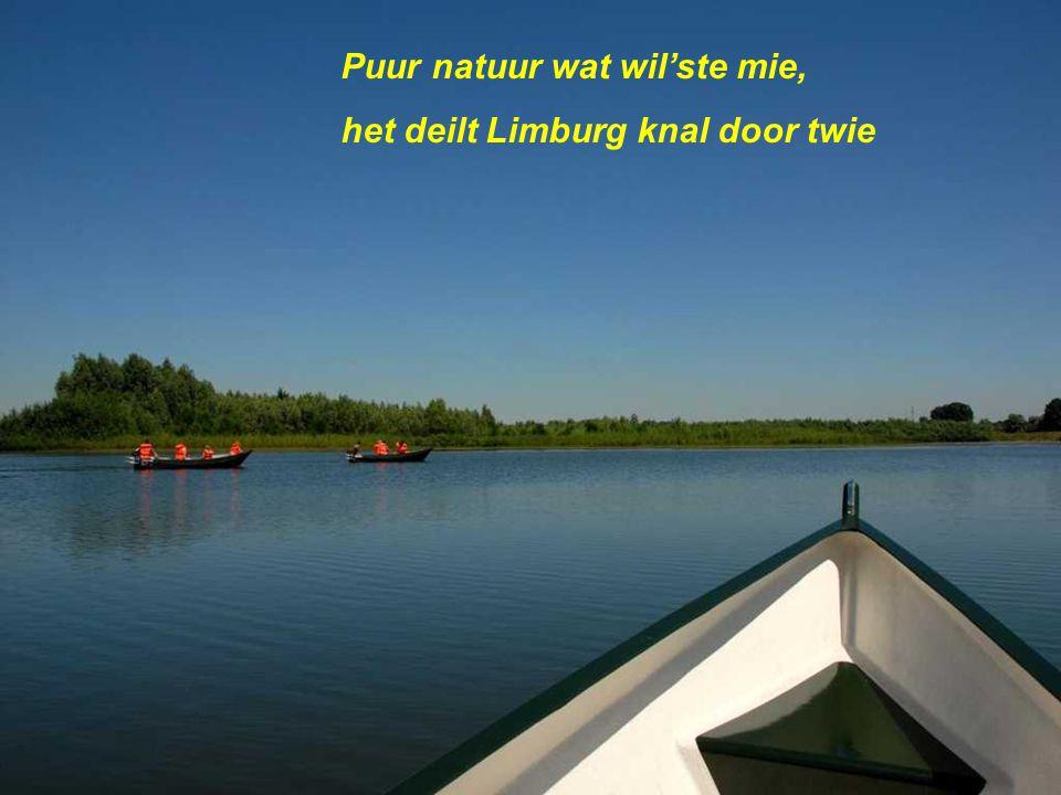 Puur natuur wat wil'ste mie, het deilt Limburg knal door twie