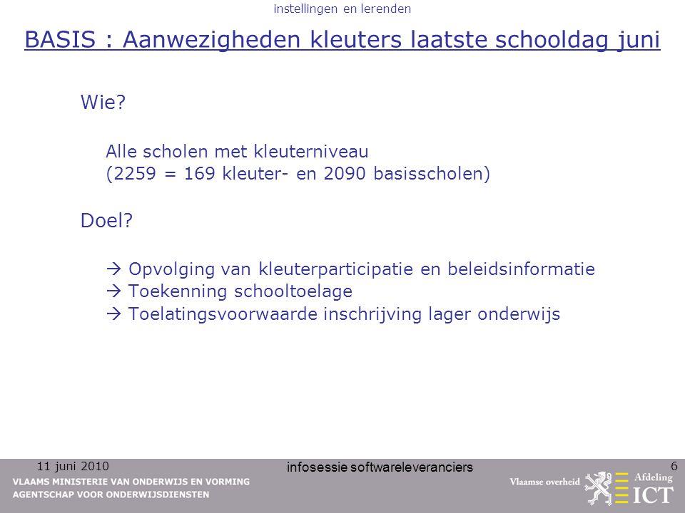 11 juni 2010 infosessie softwareleveranciers 47 personeel personeel Jeroen Depoortere