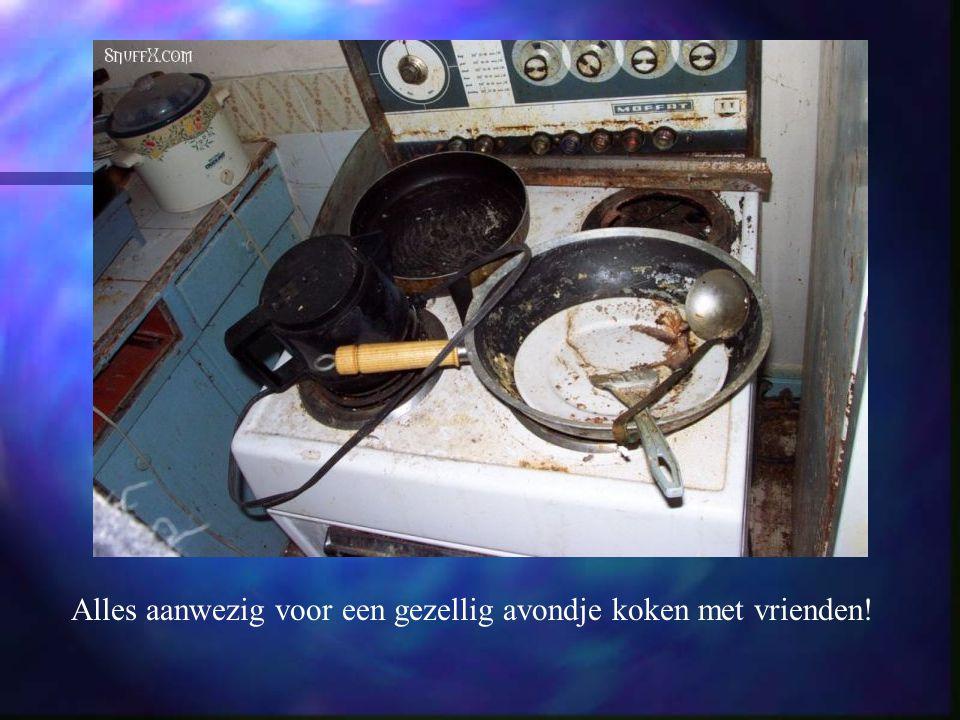 Keuken van alle moderne gemakken voorzien.