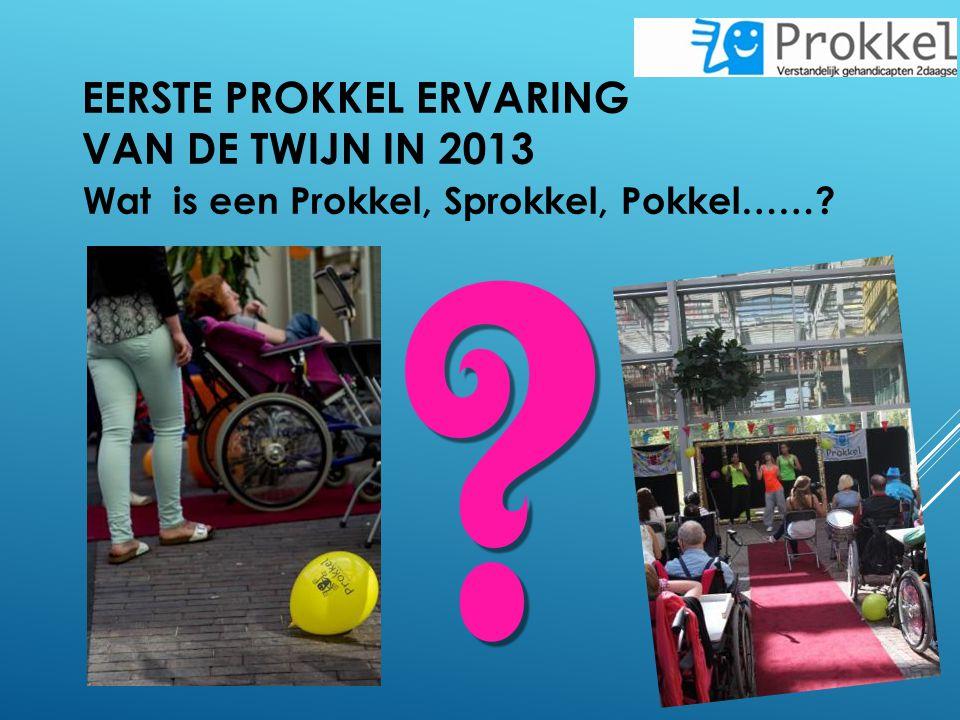 EERSTE PROKKEL ERVARING VAN DE TWIJN IN 2013 Wat is een Prokkel, Sprokkel, Pokkel……?