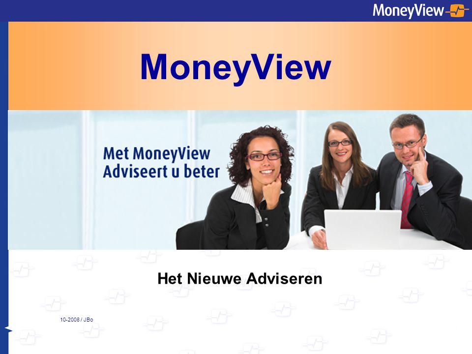MoneyView Het Nieuwe Adviseren 10-2008 / JBo