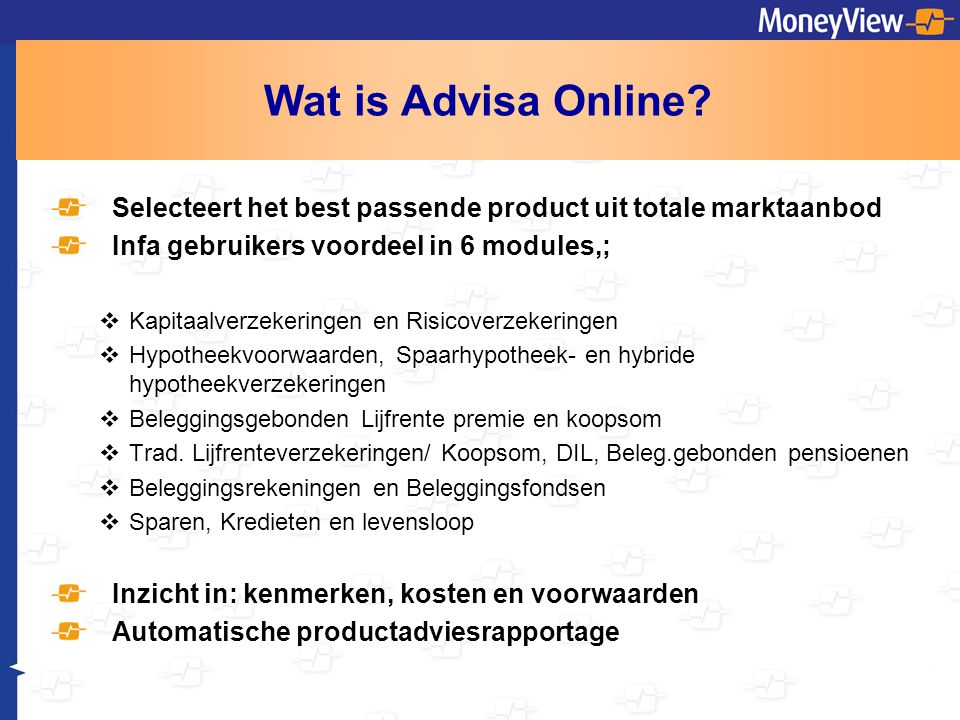 Wat is Advisa Online.