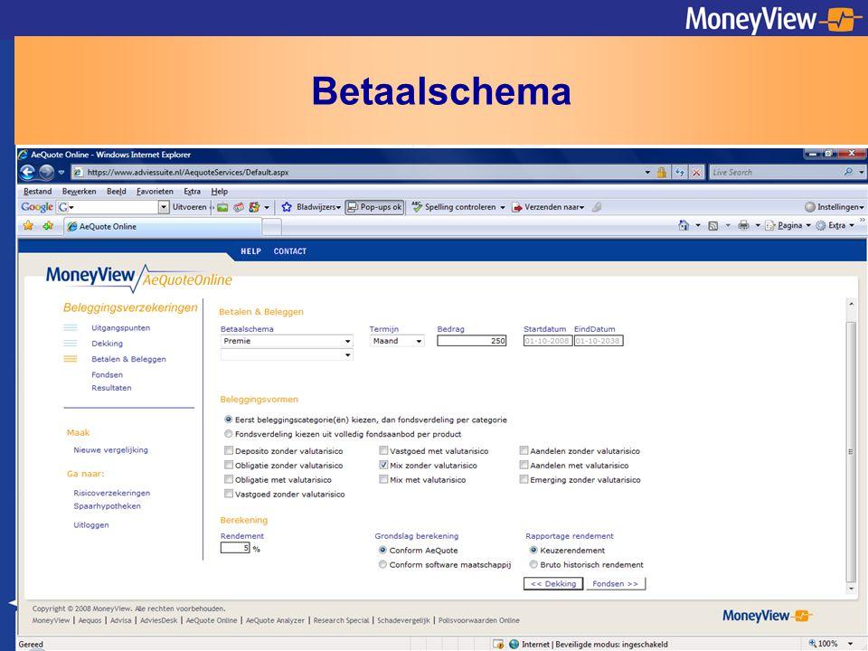 Betaalschema
