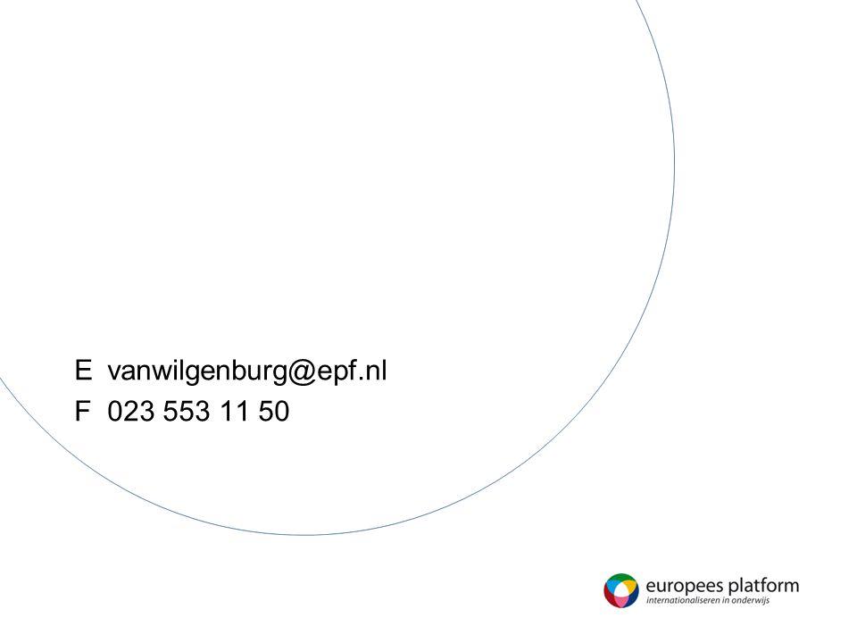 n Evanwilgenburg@epf.nl F023 553 11 50