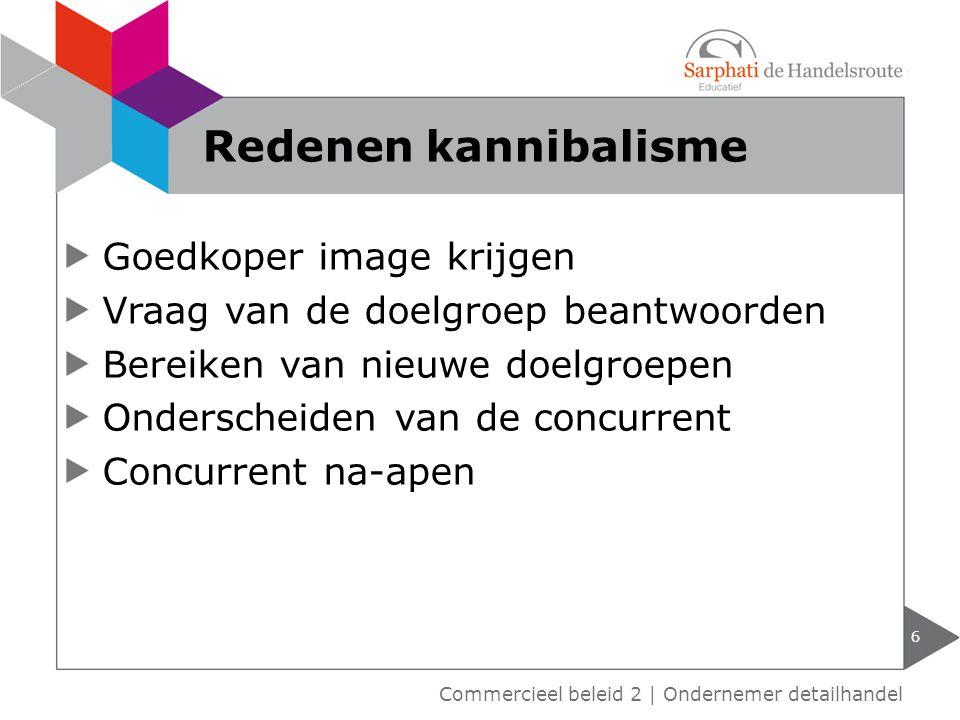 Assortiment verbreden of versmallen 7 Commercieel beleid 2 | Ondernemer detailhandel