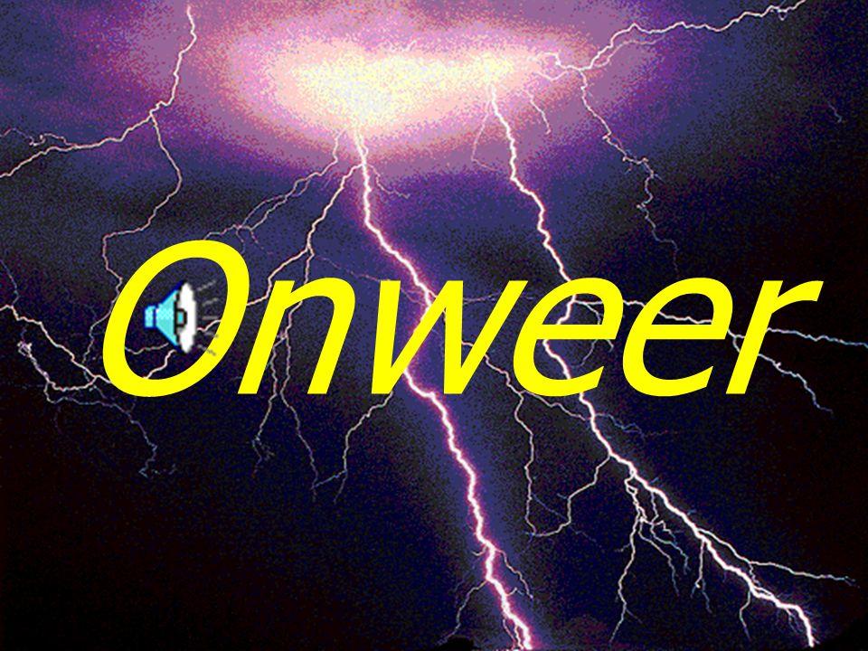 8 Onweer