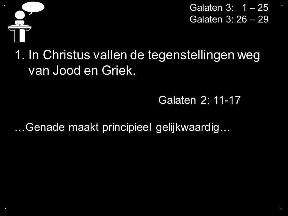 ....Galaten 3: 1 – 25 Galaten 3: 26 – 29 2.