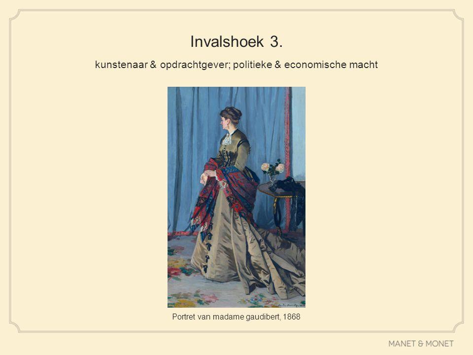 Invalshoek 3. kunstenaar & opdrachtgever; politieke & economische macht Portret van madame gaudibert, 1868