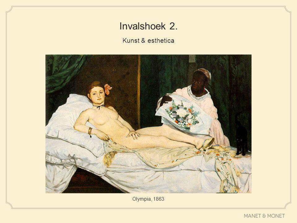 Invalshoek 2. Kunst & esthetica Olympia, 1863