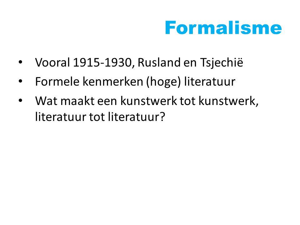 Structuralisme Vooral 1950-1970, Frankrijk De taaltheorie van Ferdinand de Saussure Literatuur als tekensysteem
